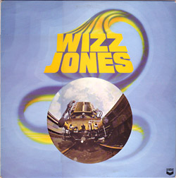 sleeve photo of original album 'Wizz Jones'